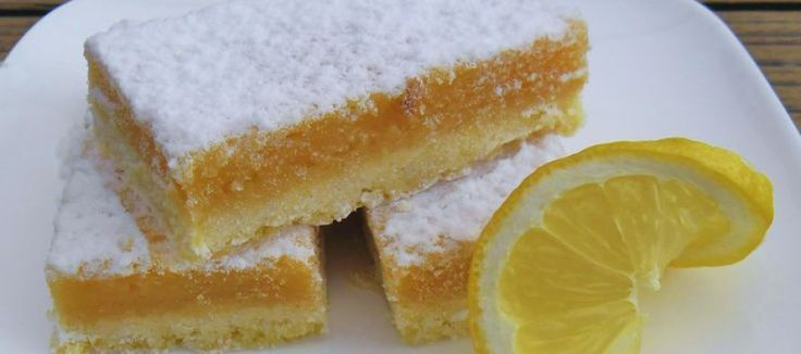 Tuintafelfun: Proef de zomer in deze friszure citroenrepen | Lekker Tafelen