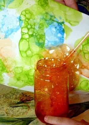 peinture à bulles                                                       …