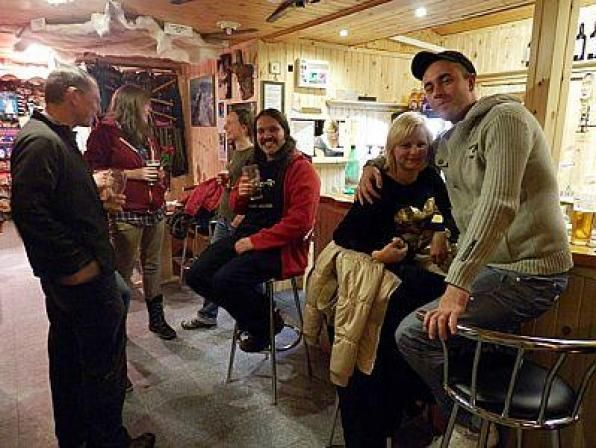 """The Pine Marten bar is an addition to Glenmore Shop, Cafe and Ski Hire and is aimed at """"out door"""" folk. It is the perfect place to go after a day on the slopes or out walking with its welcoming log burning stove and up to three Cairngorm al..."""