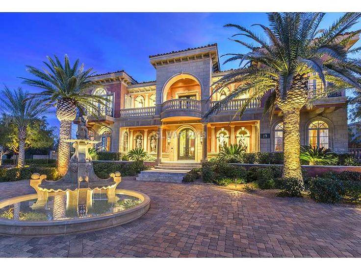 Best To Live Someday Vegas Dream Homes Images On - Amazing luxury homes
