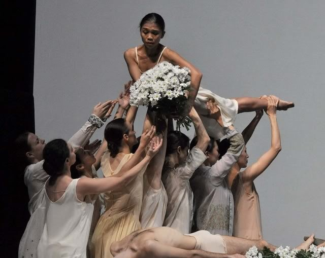 Pina Bausch,Dance,Copyright John Ross,Ballet.co.uk