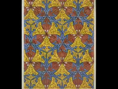 Escher's Tessellations  uploaded by SarahKM3 to You Tube