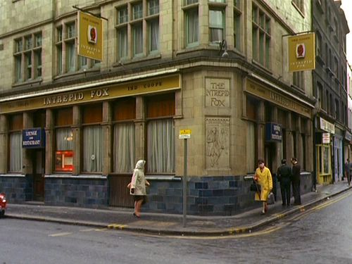 Intrepid Fox in Wardour Street, London, 1965. It's no longer the place it was which is sad.