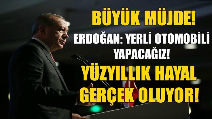 Erdoğan Büyük Haberi Verdi | Yerli Otomobil Geliyor!