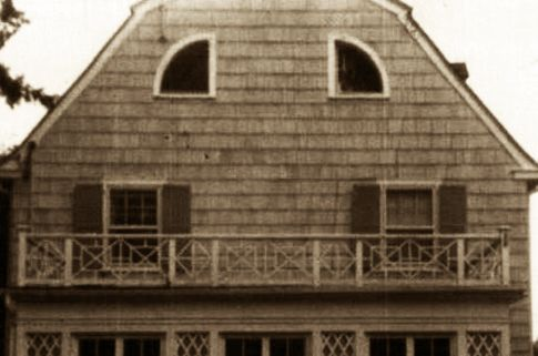 The Amityville Haunting, Long Island, New York: In December of 1975, George and Kathleen Lutz and their three children moved into 112 Ocean Avenue, a beautiful three story Dutch Colonial set on the Amityville riverside. The following is a short run-down of the events the way the Lutzes have said they occurred...