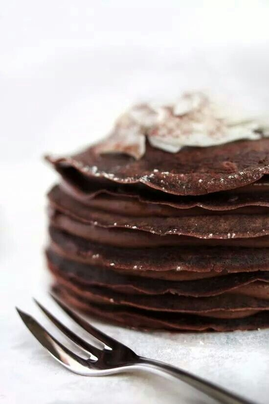 Chocolate crepes ❥
