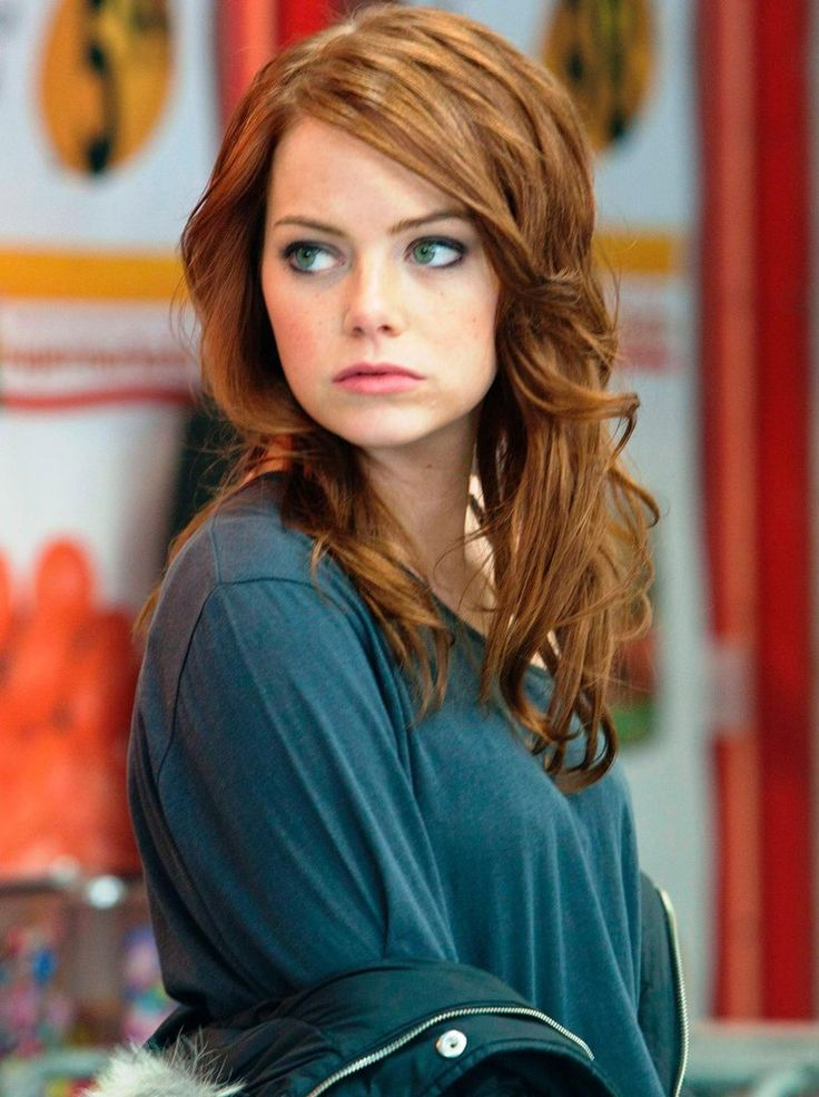 Emma Stone. I love this color!!                                                                                                                                                      More