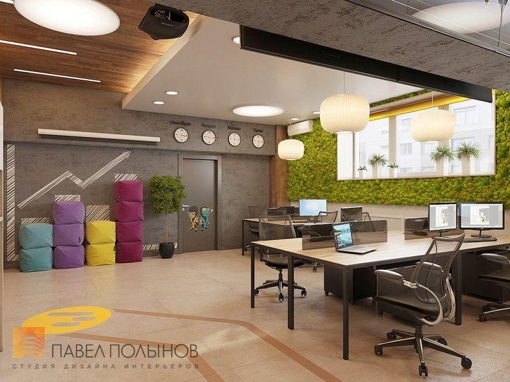 Фото: Дизайн офиса - Интерьер офиса в экостиле компании BINOMO