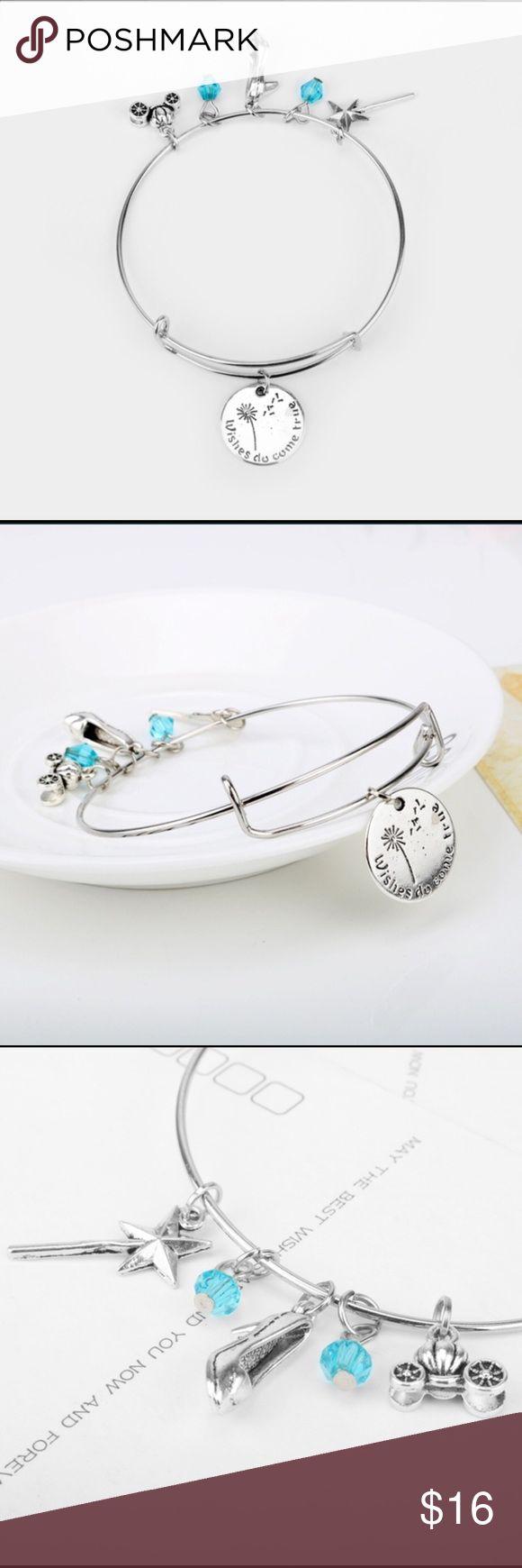 Silver Wishes Do Come True Charm Bracelet Brand new Jewelry Bracelets