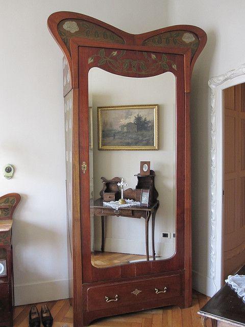 Art Nouveau Wardrobe
