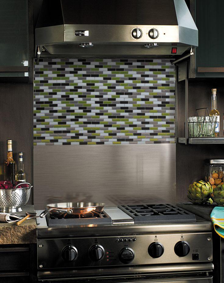 Revetement adhesif mural cuisine revetement adhesif - Revetement mural cuisine inox ...