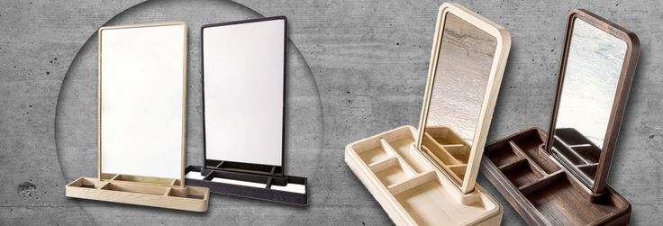 Great design - handcrafted mirror from Grounded Craftwork - Code & Shape