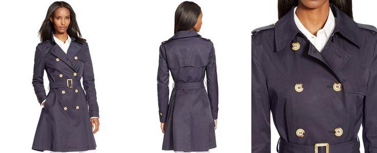 Lauren Ralph Lauren Skirted Trench Coat - Coats - Women - Macy's