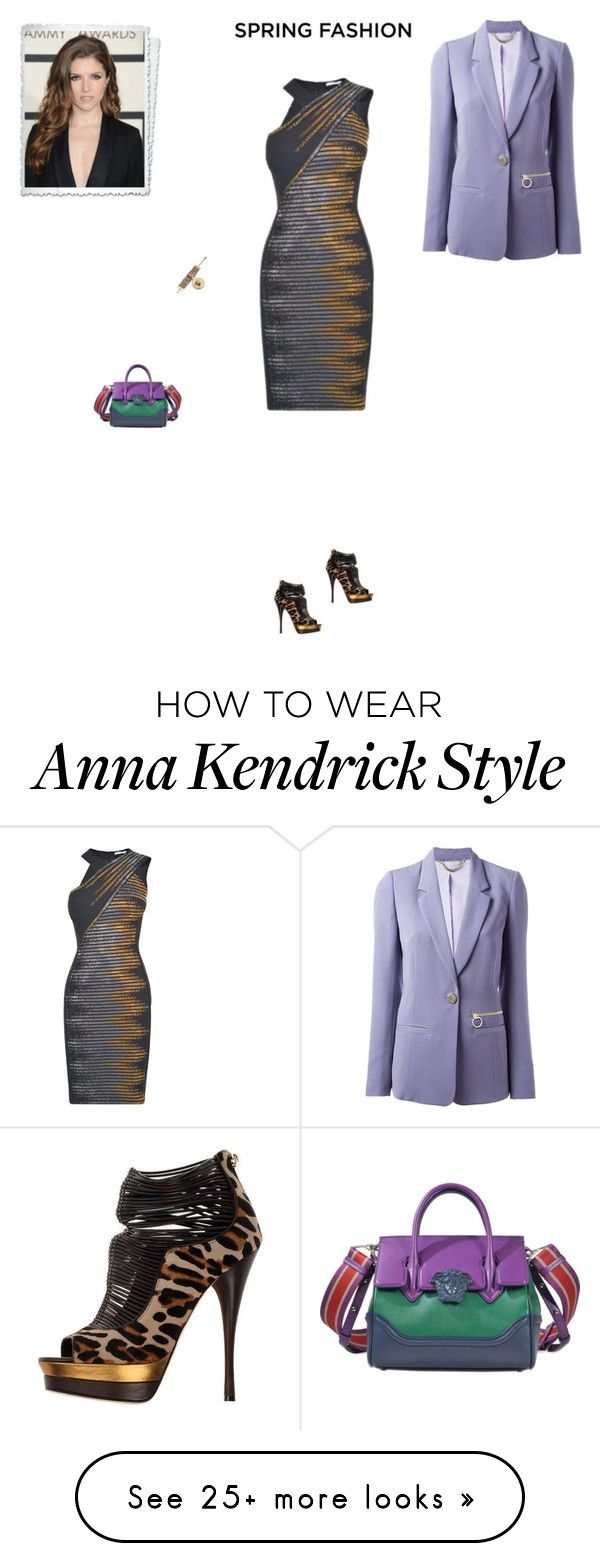 """""""#7575 - Versace"""" by pretty-girl-in-fashion on Polyvore featuring Versace, versace and springfashion"""