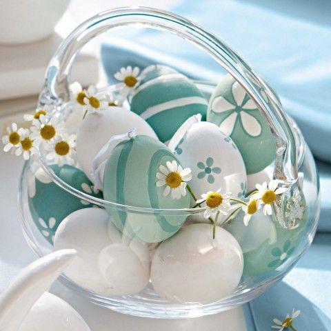 Ideas for easter eggs --- that's a cute idea