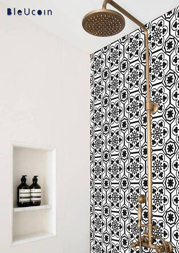 8 Popular Peel And Stick Wallpapers That Ll Instantly Update Your Home Decor Wallpaper Bathroom Walls Kitchen Wallpaper Stick On Wood Wall