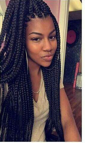 ***Try Hair Trigger Growth Elixir*** ========================= {Grow Lust Worthy Hair FASTER Naturally with Hair Trigger} ========================= Go To: www.HairTriggerr.com ========================= Box Braids and Big Hoops are ALWAYS a Winner!!!!