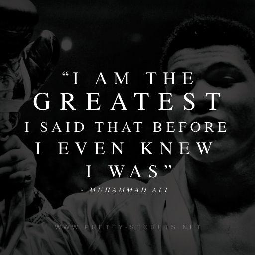 Muhammad Ali Top 10 Quotes: Die Besten 25+ Muhammad Ali Zitate Ideen Auf Pinterest
