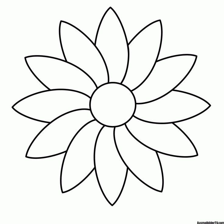Blumen malvorlage Blumen ausmalen Malvorlagen blumen