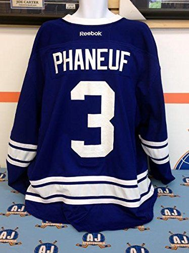 Dion Phaneuf Toronto Maple Leafs Game Used Alternate Reebok Jersey: MLSE COA - Game Used NHL Jerseys * See this great product.