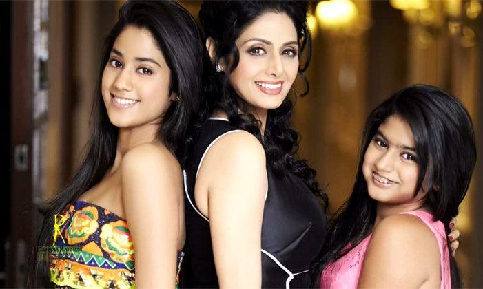 Sridevi Daughters Janhvi Kapoor & Khushi Kapoor