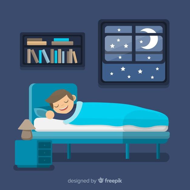 Download Flat Person Sleeping In Bed For Free Motion Graphics Inspiration Character Design Animation Character Flat Design