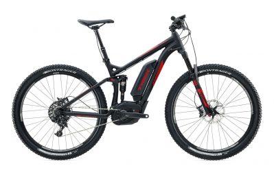 VTT électrique TREK POWERFLY+ FS 9 27.5´´ 500w 2016 Noir Rouge