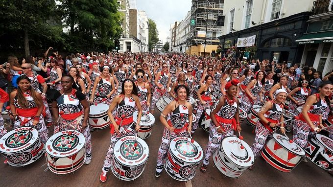 Notting Hill Carnival Europes biggest street festival is a vivid spectacle representing London's multicultural past and present. It's also a vital date in any party-lover's diary. Check out hot pictures from the ongoing carnival:
