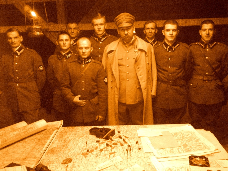 High command post of marsh. Pilsudski