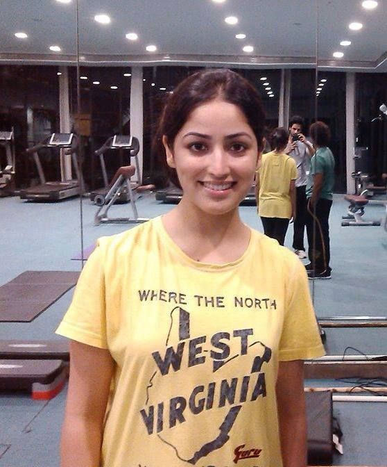 In Gym - Yami Gautam Movie Actress Latest Photos, Pictures.