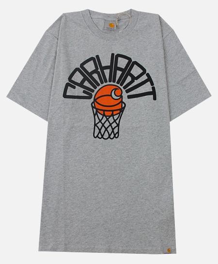 Carhartt Basketball Net T-Shirt in Grey Heather