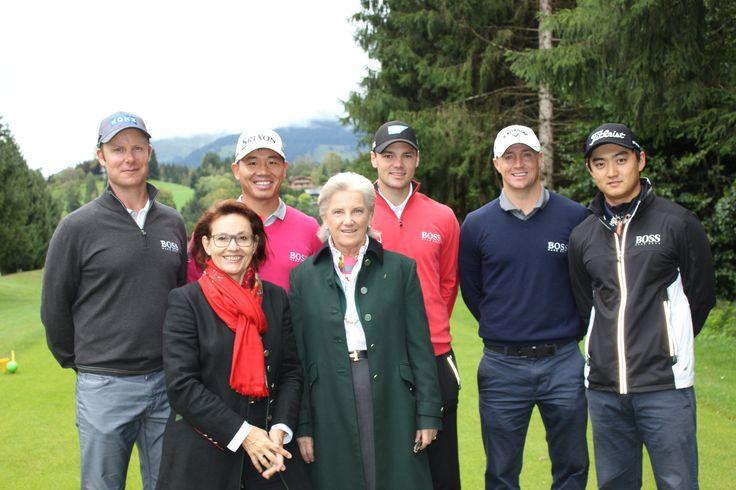 Top Stars der Golfszene am #GolfclubKitzbühelSchwarzsee mit dabei unter anderem #MartinKaymer aus Deutschland