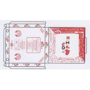 Scatola pizza, confezioni da 100 pezzi. Acquista online su www.confezionare.eu