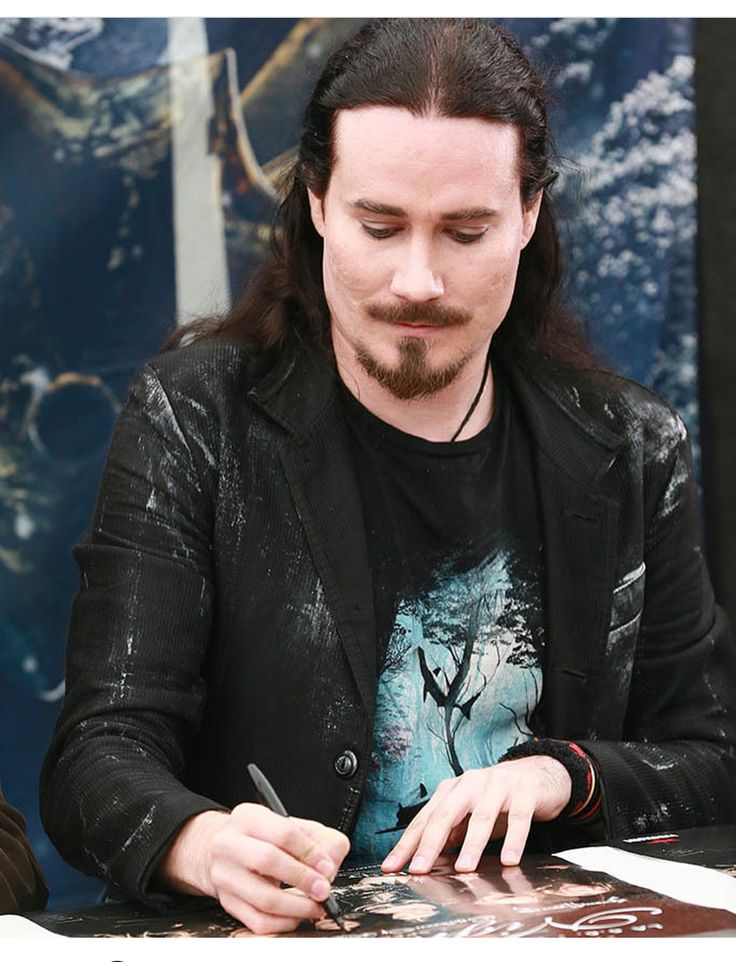 Tuomas Holopainen... The Maestro of Symphonic Metal 💙🤘🏻💙