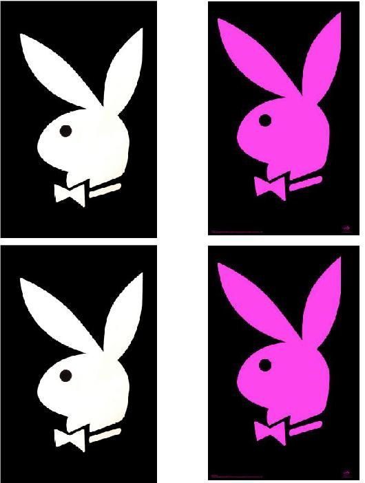 Hey, I found this really awesome Etsy listing at http://www.etsy.com/listing/75693358/lot-of-4-playboy-bunny-fabric-panel