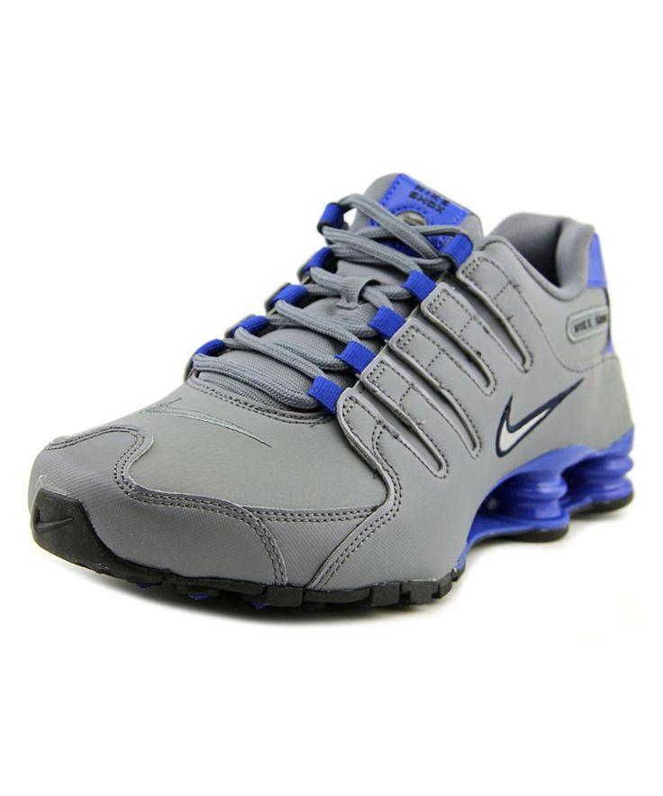 NIKE Nike Shox Nz Men  Round Toe Synthetic Gray Running Shoe'. #nike #shoes #sneakers