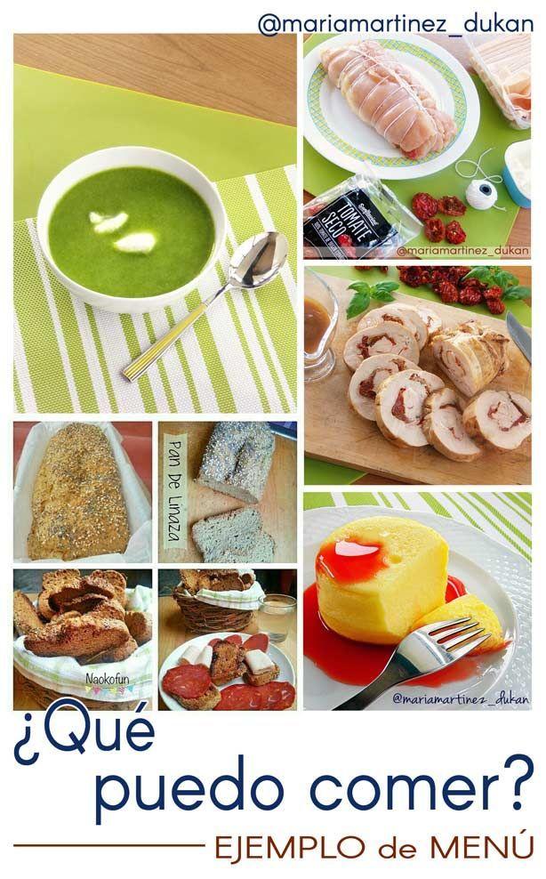 Una de las dudas más frecuentes al comenzar la dieta Dukan es ¿Qué puedo comer? ¿Cómo combino los alimentos? ¿Cómo elaboro un menú?En este post voy a enseñarte un ejemplo de menú para una comida o…