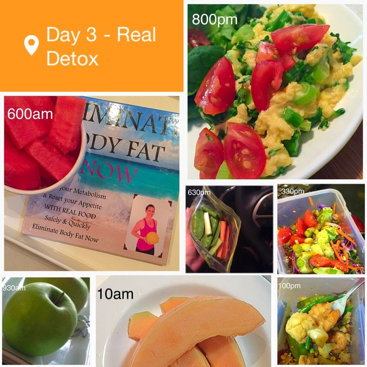 Tips and tricks for surviving a 7 day detox.  Some great planning idea for those busy days