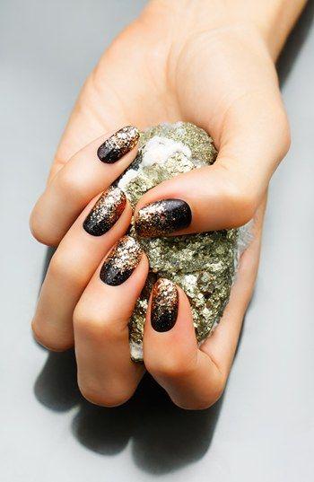Glam glitter nails. #nordstrom @nordstrom