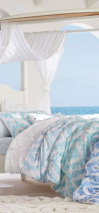 Fantastic Top 25 Ideas About Beach Bedrooms On Pinterest Beach Room Beach Largest Home Design Picture Inspirations Pitcheantrous