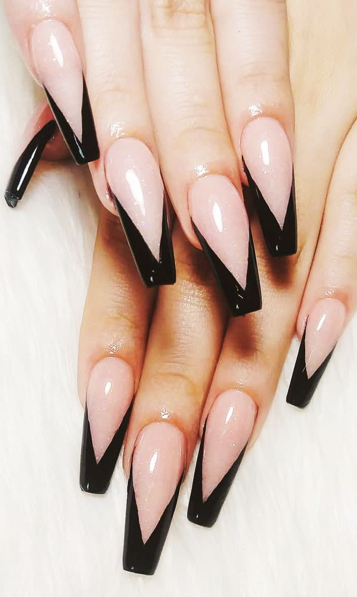 33 Stylish And Glamour Acrylic Nails Design For 2020 Fashion Blog Acrylic Nail Designs Nail Designs Ballerina Nails