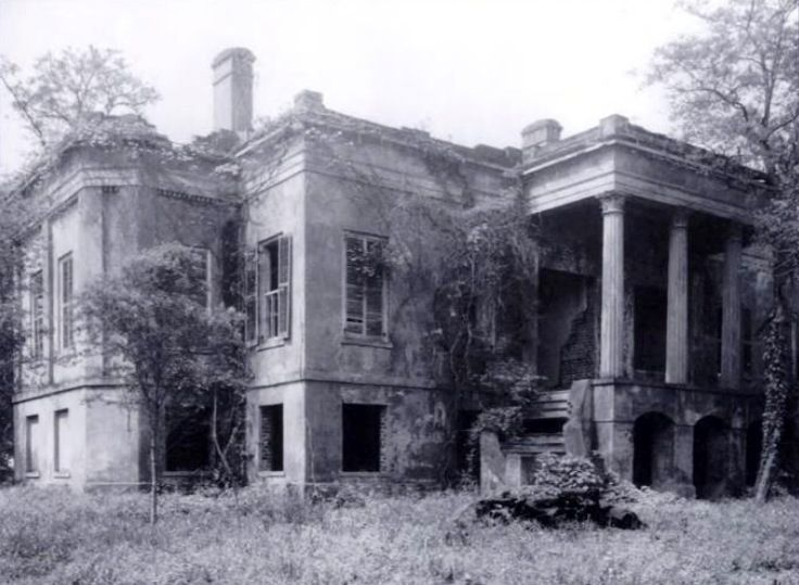 Hermitage plantation built near savannah georgia for Abandoned plantations in the south for sale
