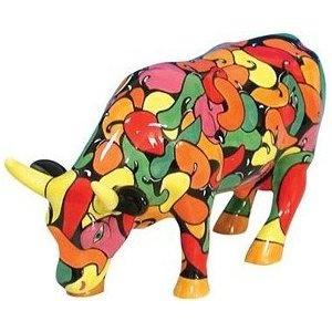 Cow Parade - La Vaca Enchilada Figurine