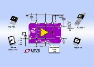 LT3091  36V 1.5A Negative Linear Regulator with Programmable Current Limit