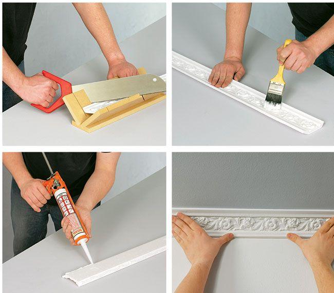 Oltre 25 fantastiche idee su pareti in gesso su pinterest for Cornici in polistirolo per soffitti