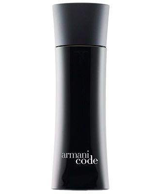 Armani Code for Men Eau de Toilette, 4.2 oz. I love the smell of this fragrance. I personally think it is one of the best men's fragrance.