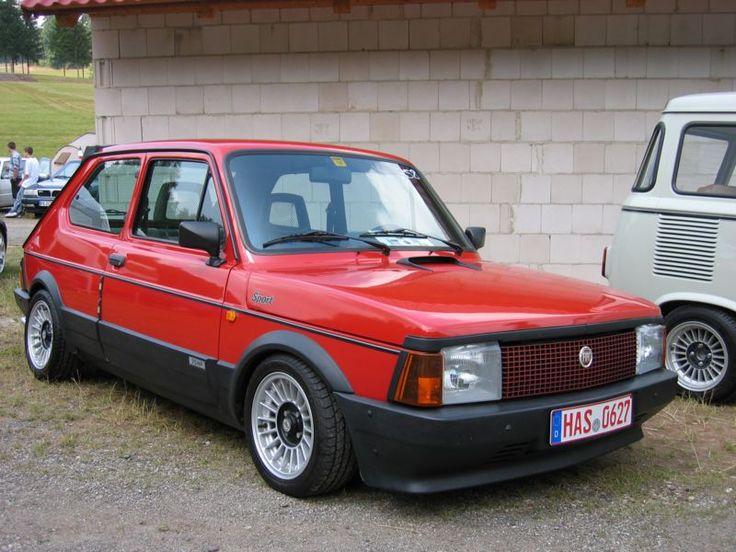 Fiat 127 sport italian cars fiat cars pinterest for Garage fiat 94