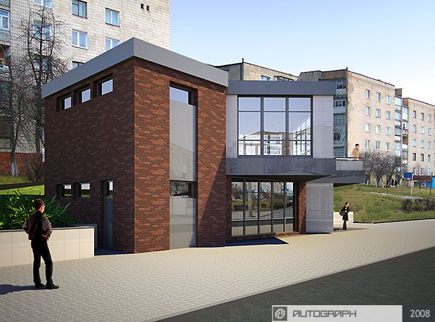 Автограф - Проект магазина-кафе, г.Ровно