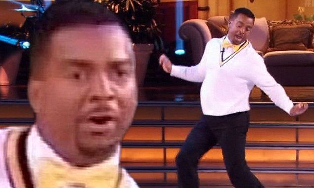 Alfonso Ribeiro FINALLY channels Carlton on Dancing With The Stars