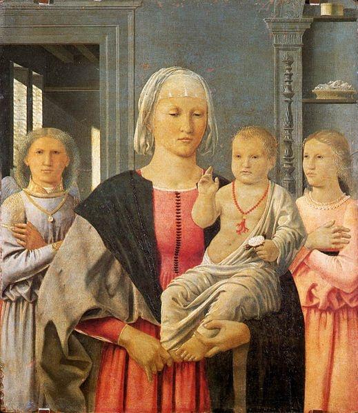 Piero della Francesca - Madonna of Senigallia (circa 1470)